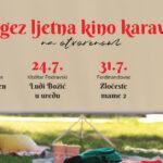 U petak 17.7. kreće Dergez ljetna kino karavana