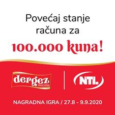 """Nagradna igra """"POVEĆAJ STANJE RAČUNA ZA 100.000 KUNA!"""""""